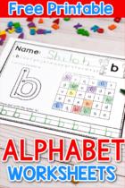 Free Lowercase Alphabet Worksheets Printable