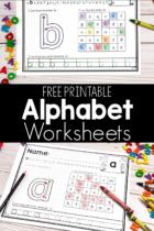 Free Printable Lowercase Alphabet Worksheets