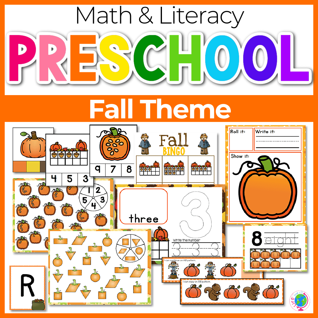 Fall Preschool Math and Literacy-5