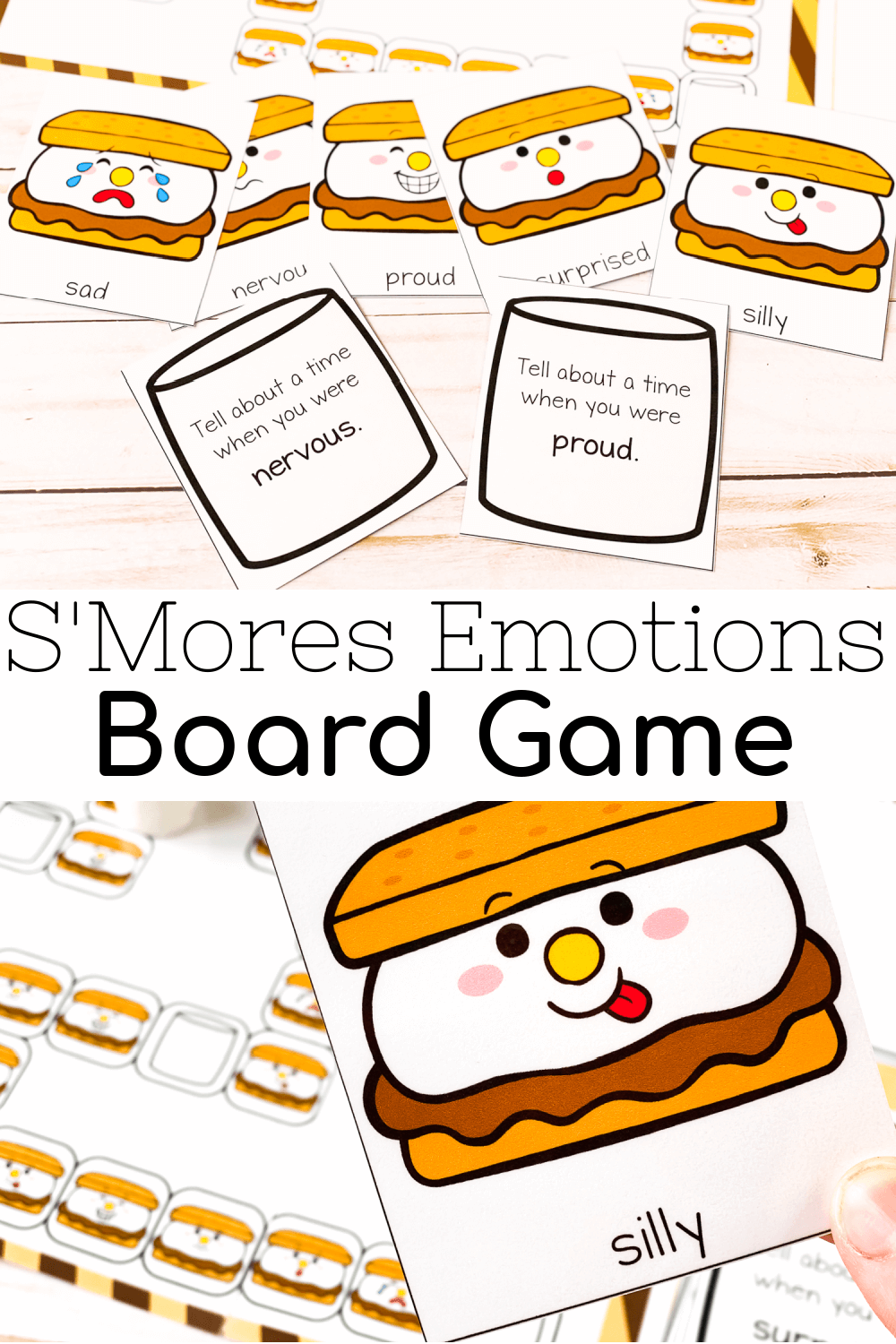 S'mores Emotions Board Game