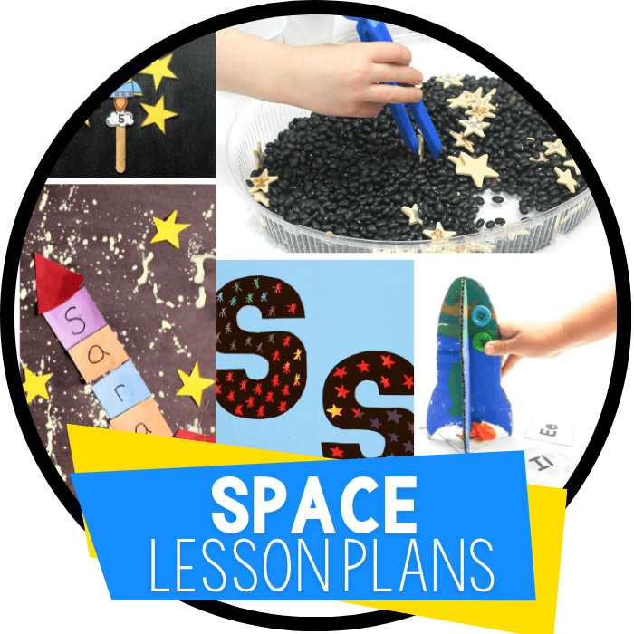 Outer Space Theme Lesson Plan for Preschool