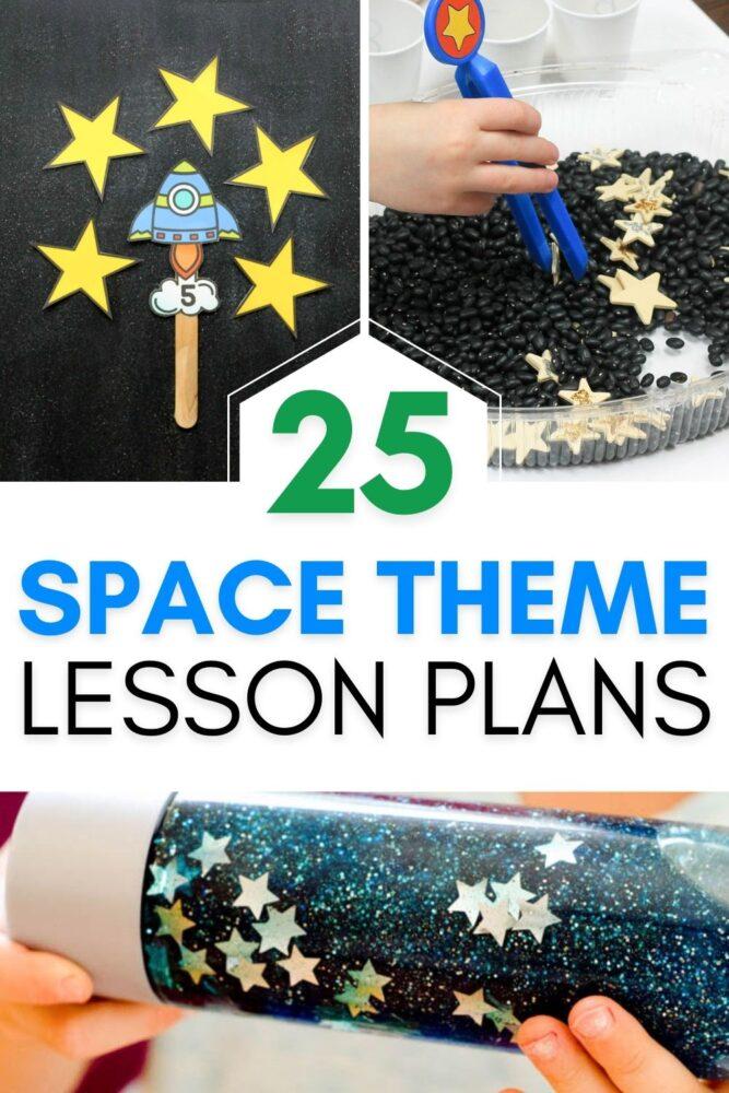 25+ Space Theme Lesson Plans