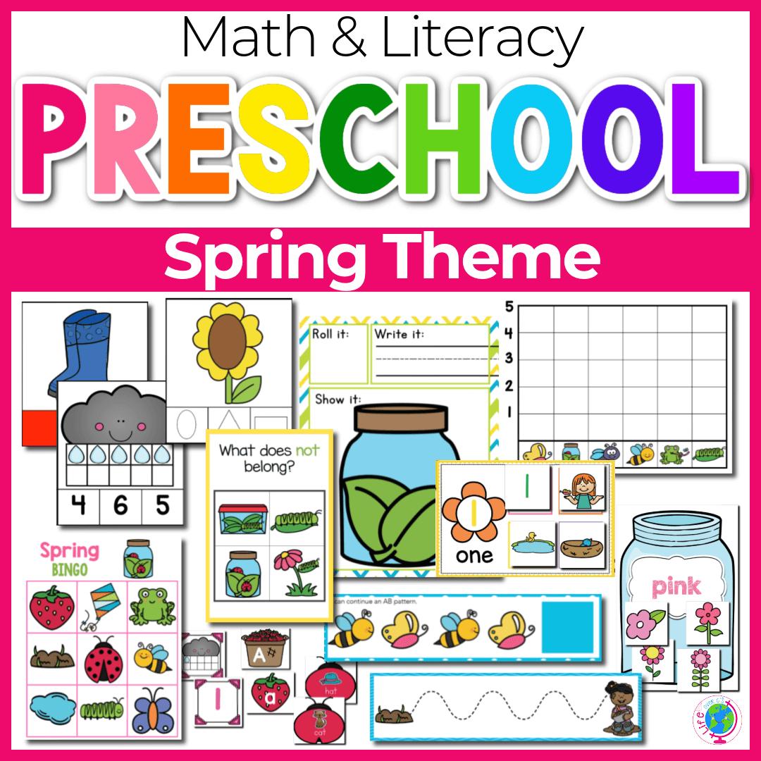 Spring Theme Preschool Theme