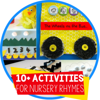 activities for nursery rhymes featured image