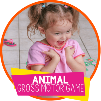 animal gross motor game featured image