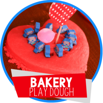 bakery play dough activity featured image