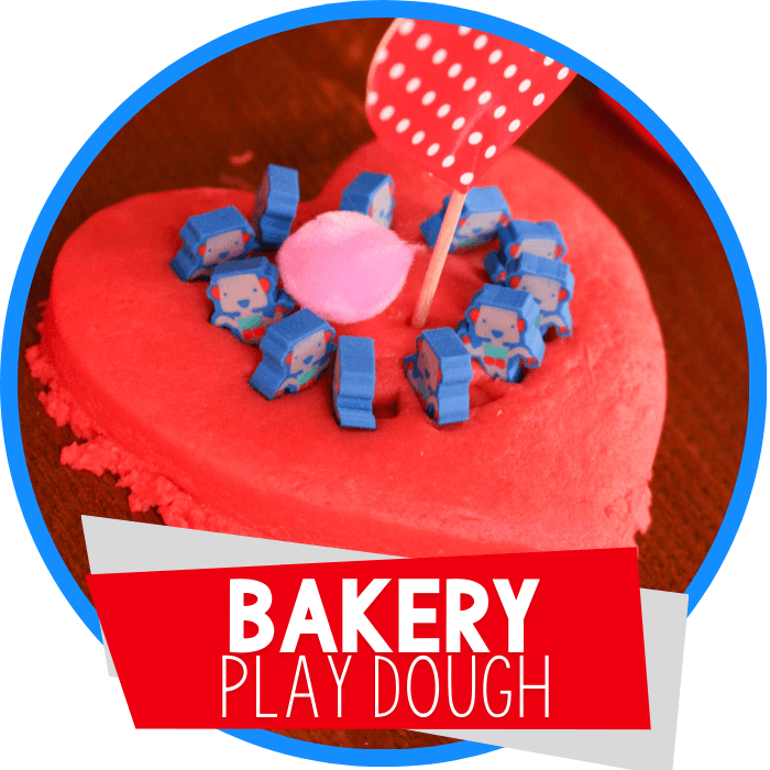 Learning Through Play Dough Bakery Pretend Play