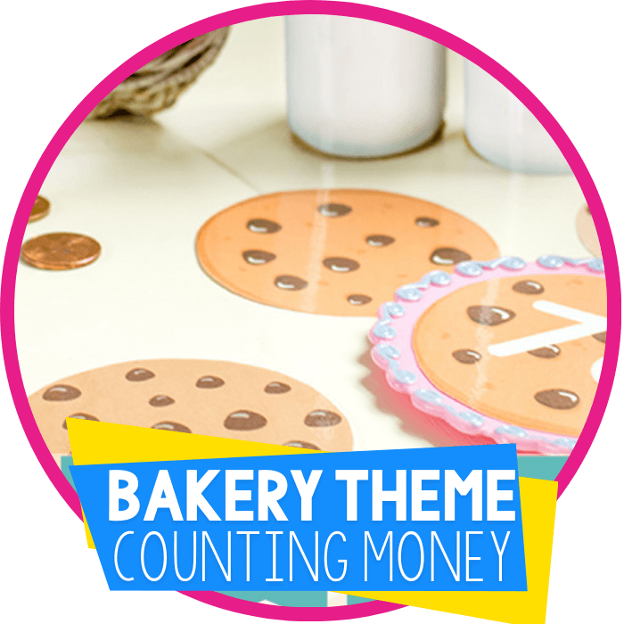 Bakery Pretend Play Printables for Counting