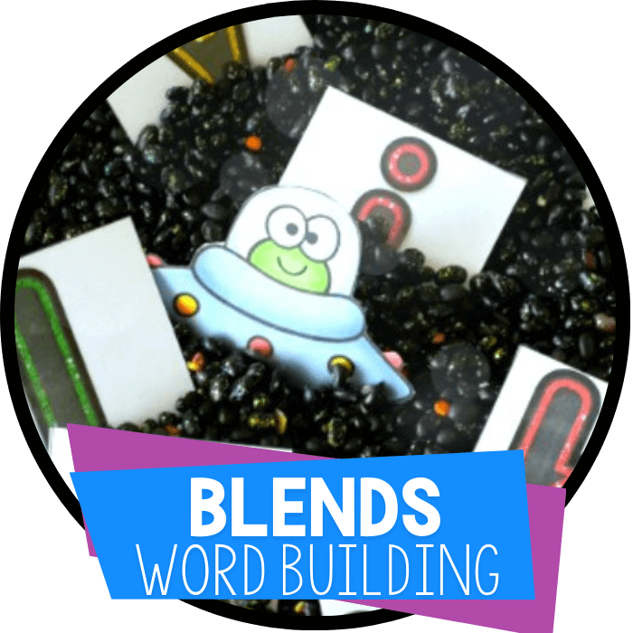 Free Printable Blends Word Building Activity
