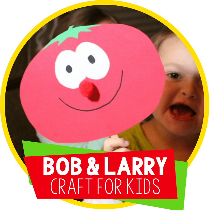 Teaching Preschoolers Kindness with Bob & Larry Stick Puppets