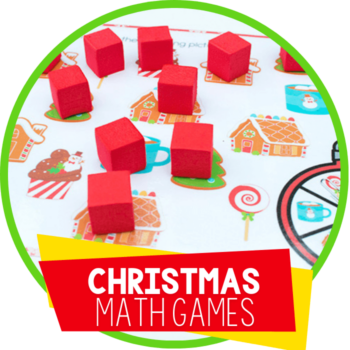 christmas math games featured image