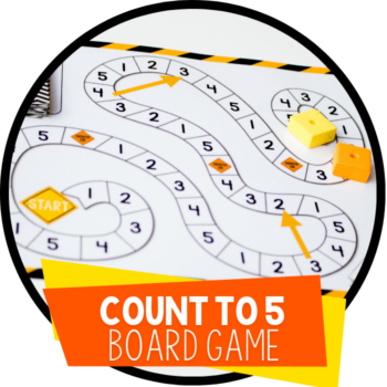 count to 5 board game featured image