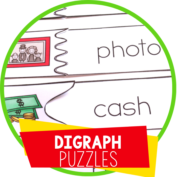 Free Printable Puzzles for Digraphs