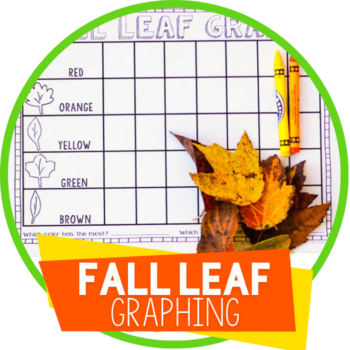 fall leaf graphing printable featured image