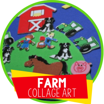 Sticker Collages Farm Animal Craft Featured Image