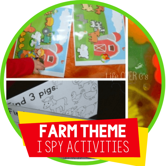Simple I Spy Activities for Kids