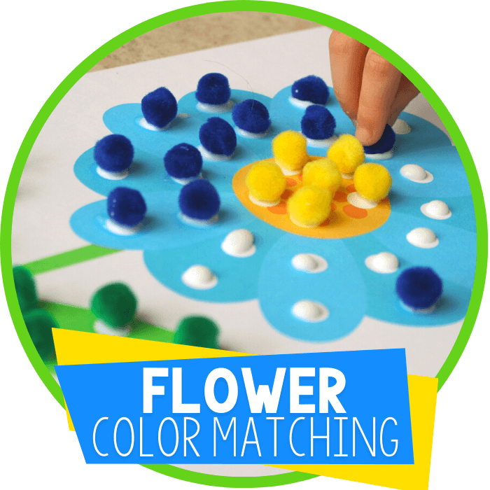 Learning Colors with Pom Poms