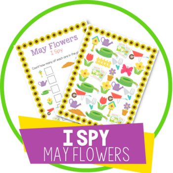 i spy may theme flower featured image