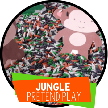 jungle pretend play printable featured image