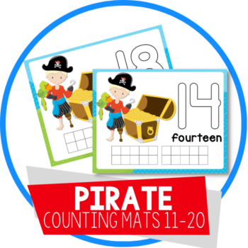 pirate counting mats 1 to 10 featured image