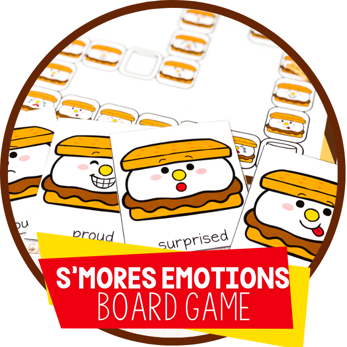 S'mores Emotions Board Game Featured Image