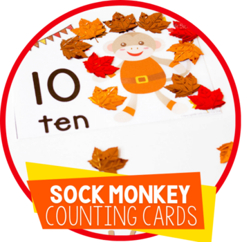 sock monkey counting cards featured image