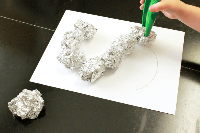 The moon rock letters activity from the outer space theme lesson plans.