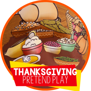 thanksgiving play dough pretend play set featured image