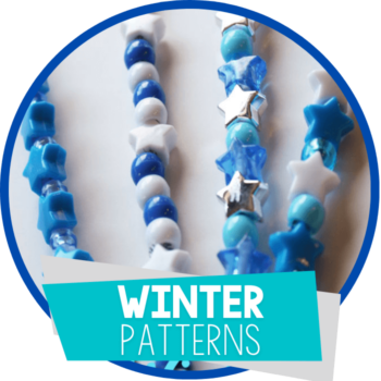 winter theme pattern activity featured image