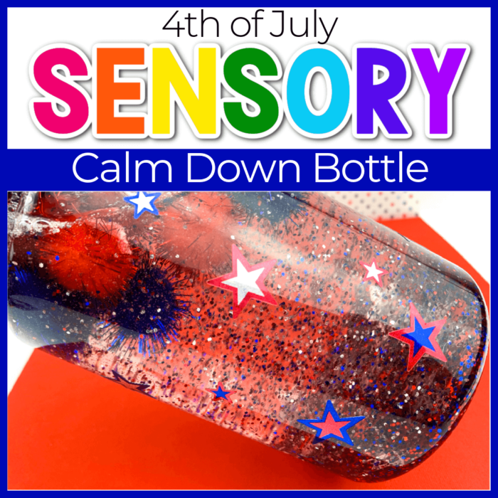 4th of july sensory calm down bottle cover sq