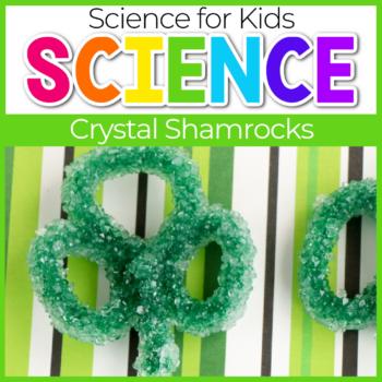 Borax Crystal Shamrocks Science Experiments for St. Patrick's Day