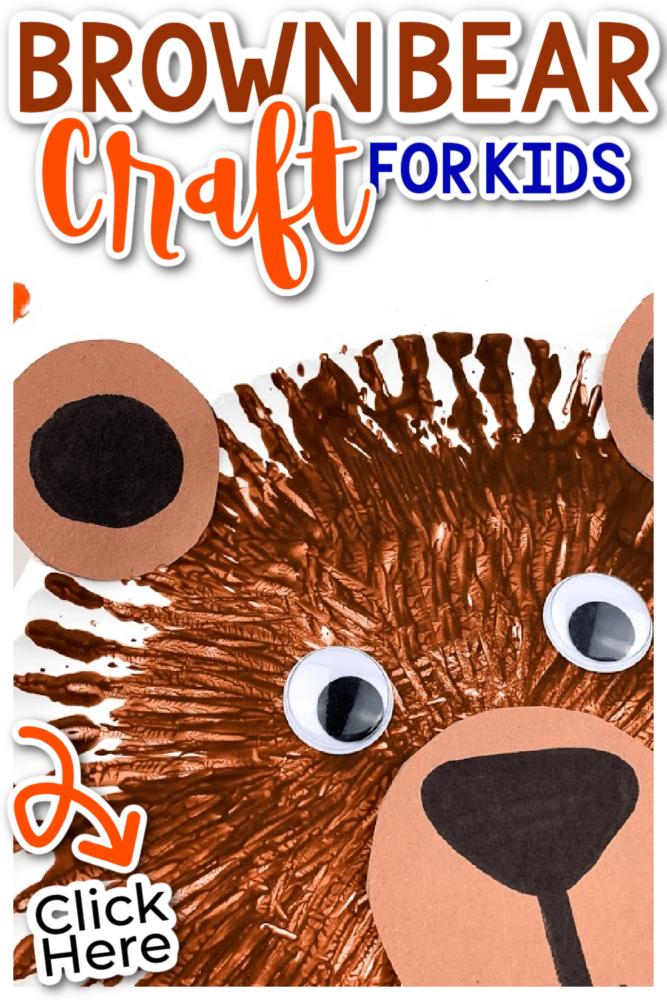 Brown Bear Craft for Kids