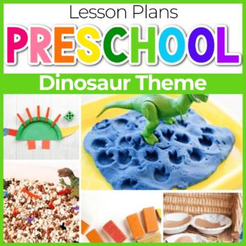Dinosaur Preschool Lesson Plans