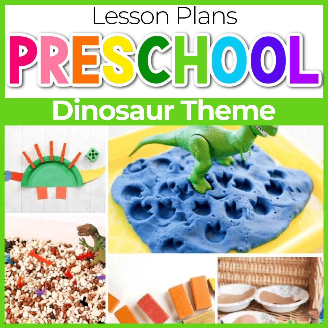 Dinosaur Lesson Plans for Preschool