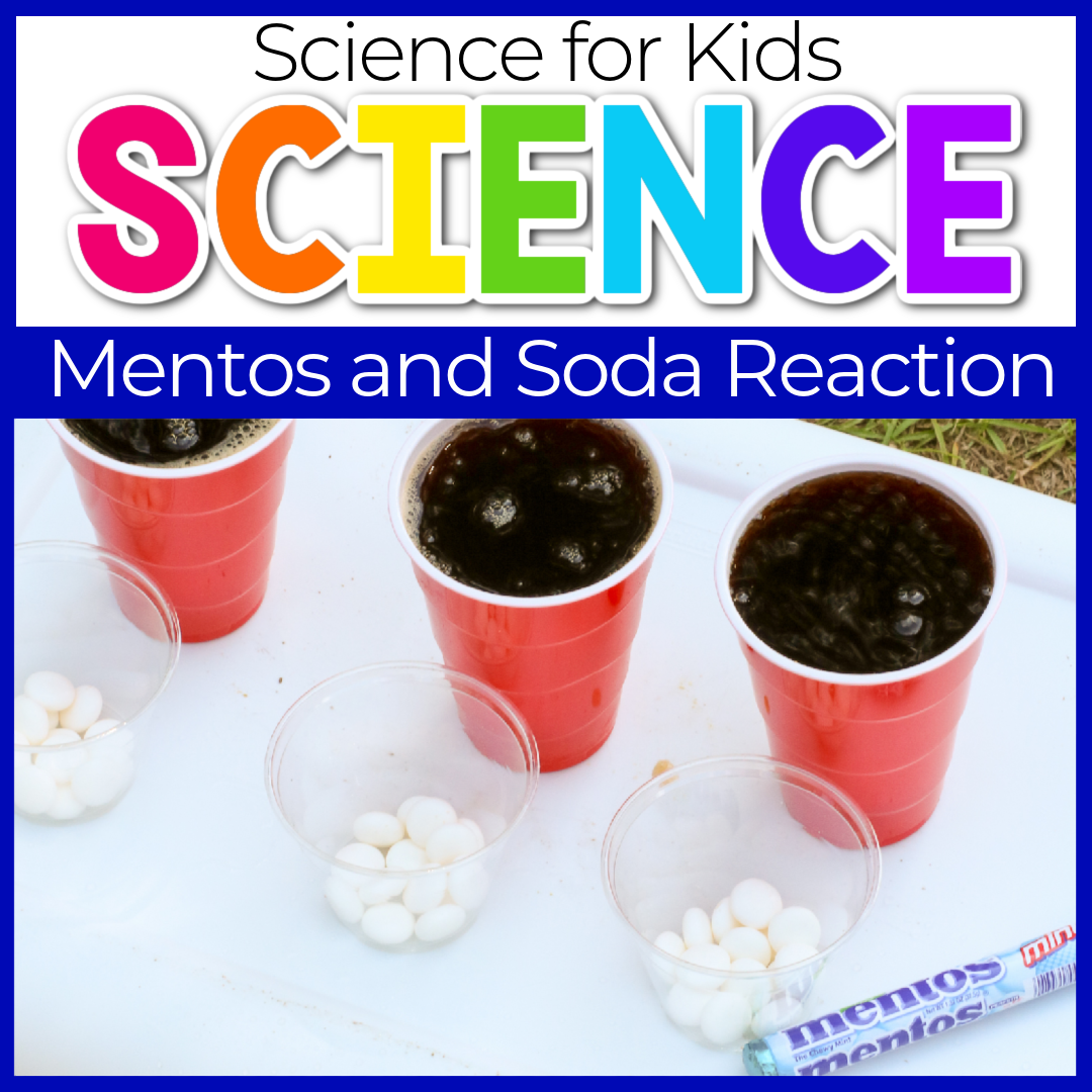 Soda and Mentos Easy Science Experiments for Kids