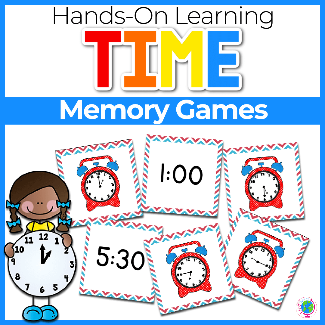 Time Memory Cards- Multiple Levels