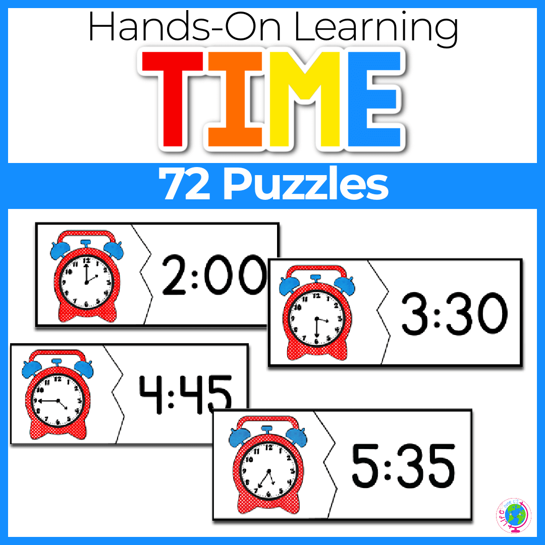 Time Puzzles 72 Puzzles Multiple Levels