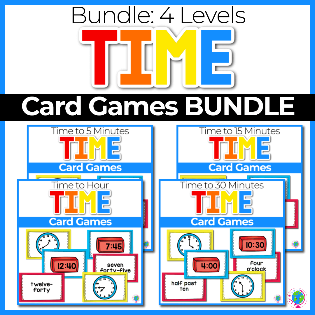 Time card game bundle Cover