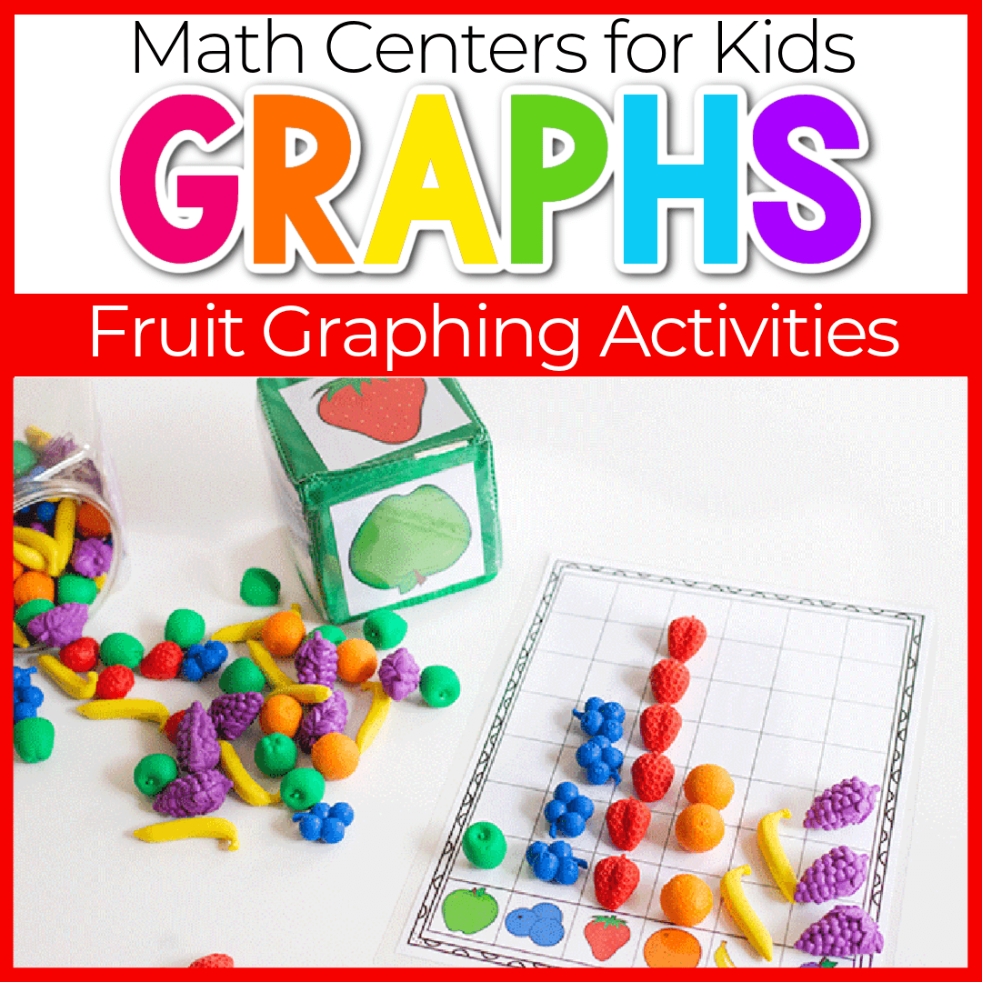 Fruit Themed Graphing Activity Set