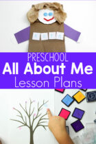 All About Me Lesson Plans for Preschoolers