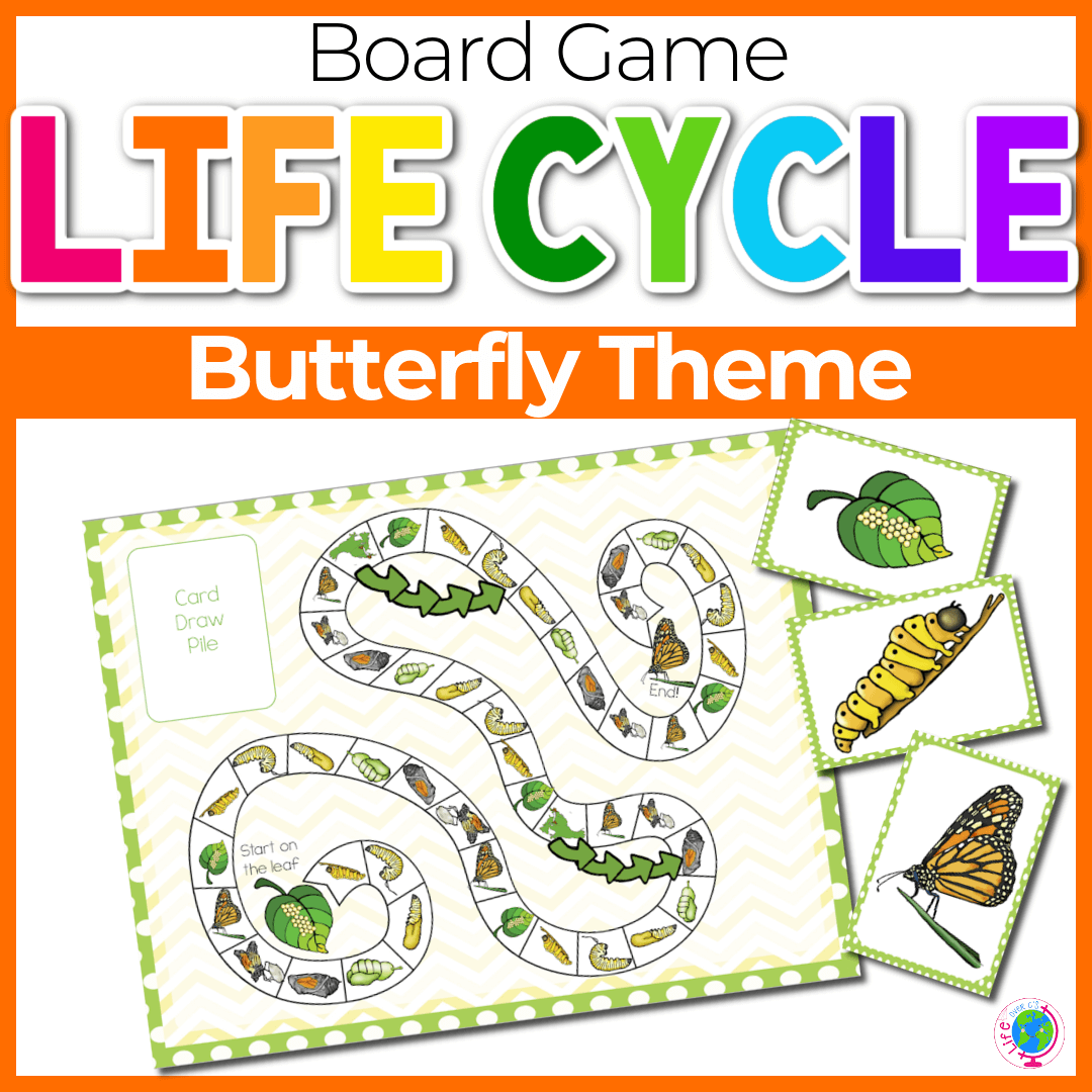 Butterfly Life Cycle Board Game