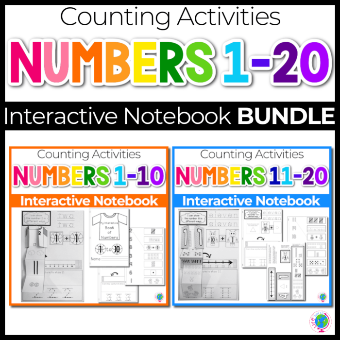 Numbers Interactive Notebooks Bundle