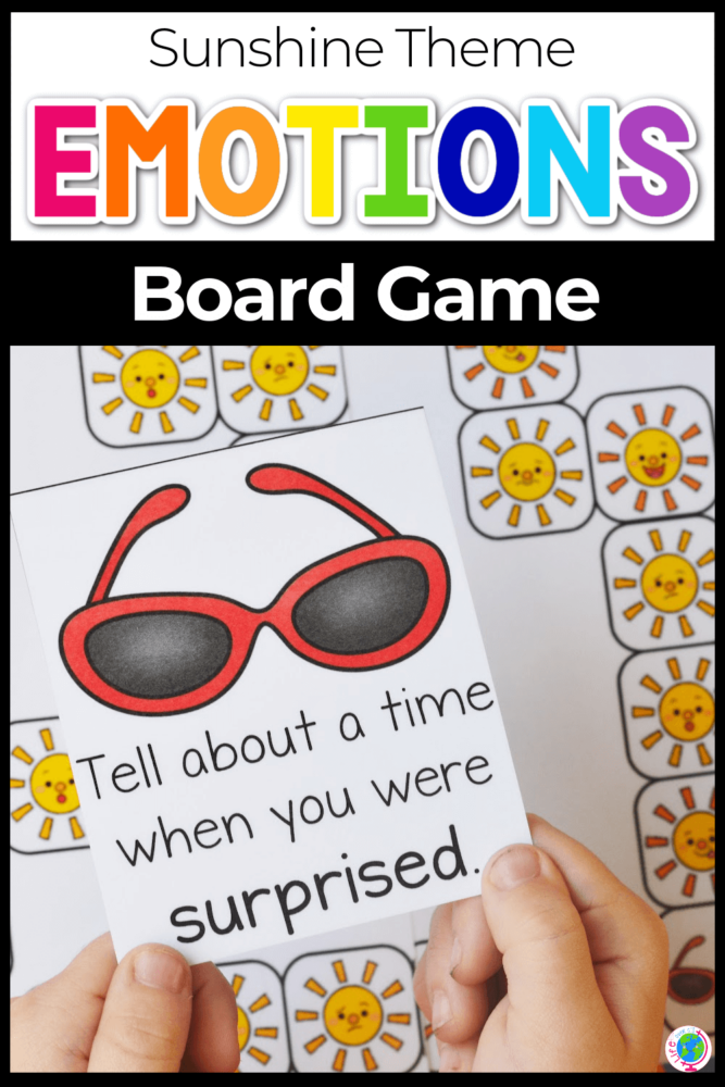 Sun Emotions Board Game for Kids pin-2
