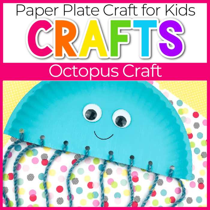 Paper Plate Octopus Craft for Kids Featured Image