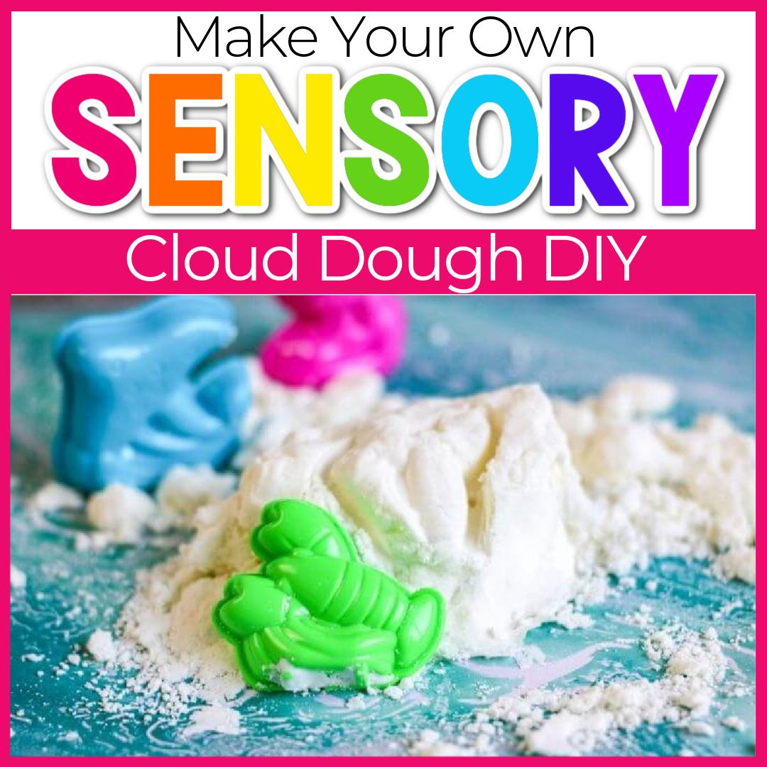 2-Ingredient Homemade Cloud Dough Recipe