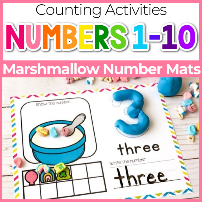 marshmallow number counting mats 1 to 10