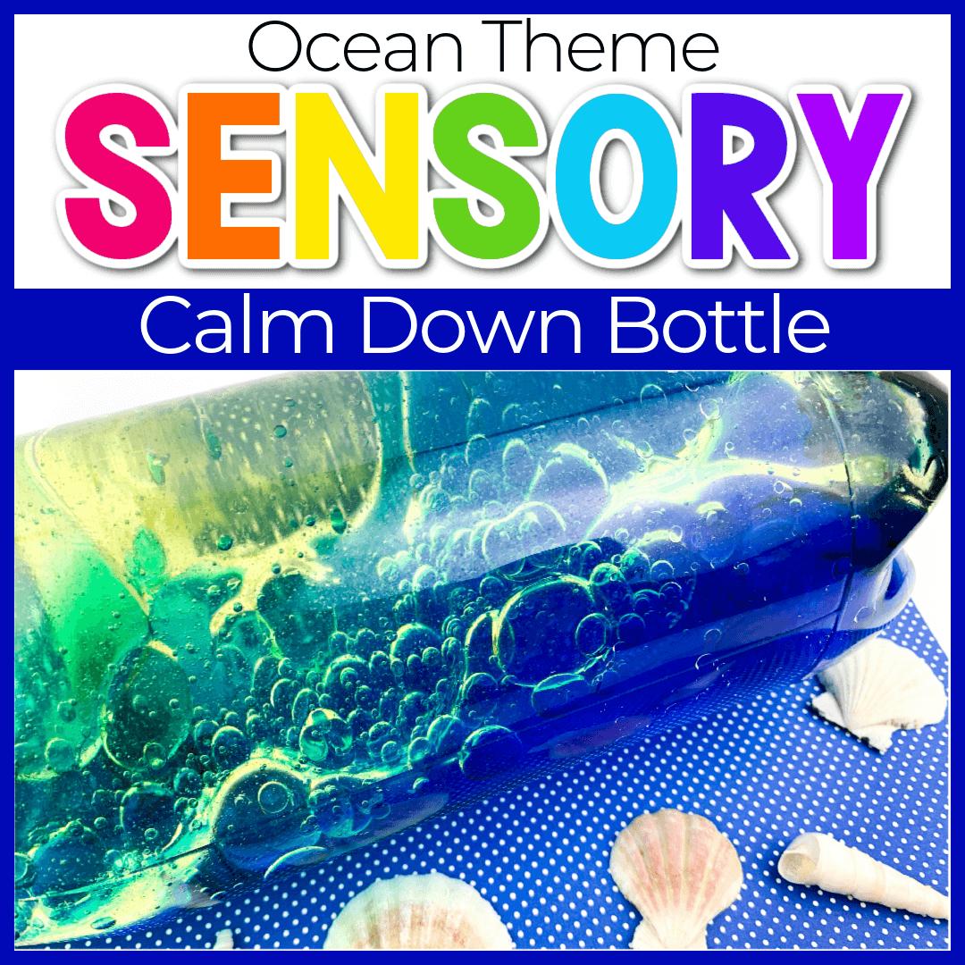 How to Make Your Own Ocean Sensory Bottle