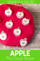 Apple Play Dough Recipe