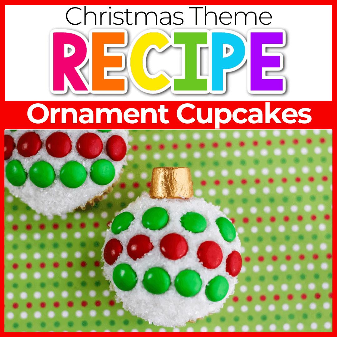 How To make Christmas Ornament Cupcakes