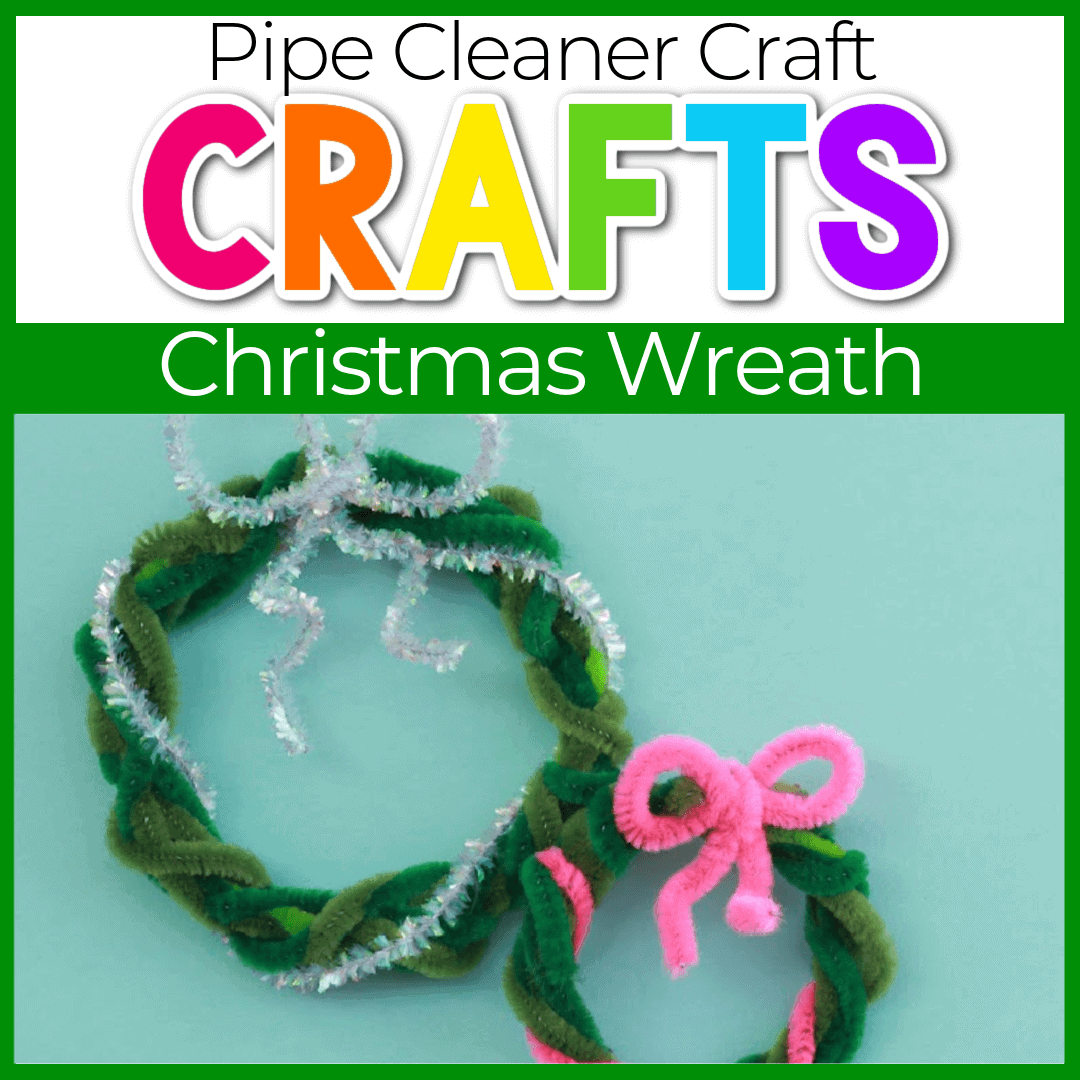 Christmas Pipe Cleaner Wreath